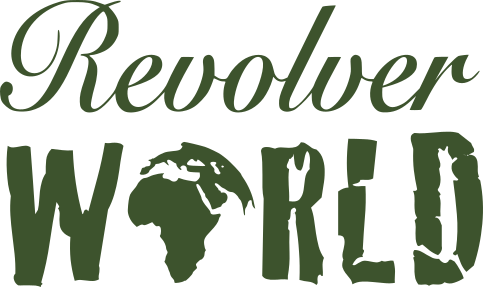 Revolver World Logo Green